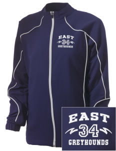 East Elementary School Greyhounds Embroidered Russell Women's Full Zip Jacket