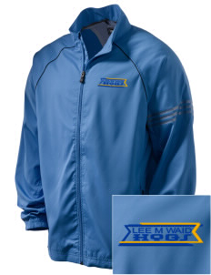 Lee M Waid Elementary School Hogs Embroidered adidas Men's ClimaProof Jacket