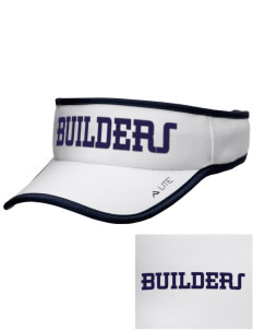 Cornerstone Christian School Builders Embroidered Lite Series Active Visor