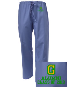Glendale Adventist Academy Cougars Embroidered Scrub Pants