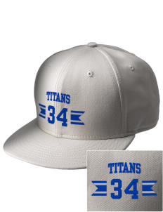 Yeshivah Harambam School Titans  Embroidered New Era Flat Bill Snapback Cap