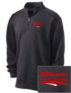 Moxee Elementary School Panthers Embroidered Nike Men's Golf Heather Cover Up