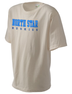 North Star Elementary School Huskies Kid's Organic T-Shirt