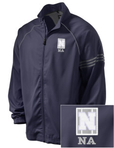 Newcastle Avenue Elementary School Newcastle Navigators Embroidered adidas Men's ClimaProof Jacket