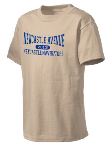 Newcastle Avenue Elementary School Newcastle Navigators Kid's Lightweight T-Shirt