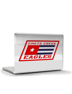 "Chets Creek Elementary School Eagles Apple MacBook Pro 15"" & PowerBook 15"" Skin"