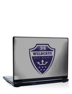"Holy Rosary Academy Wildcats 17"" Laptop Skin"