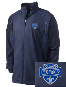 Dollahan Elementary School Dalmations Embroidered Men's Nike Golf Full Zip Wind Jacket