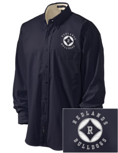 Redlands Adventist Academy Bulldogs Embroidered Men's Easy-Care Shirt