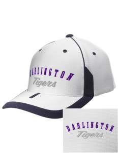 Darlington School Tigers 3D Puffy Embroidered M2 Universal Fitted Contrast Cap