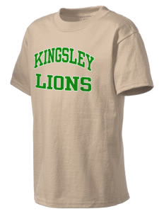 Kingsley Elementary School Lions Kid's Lightweight T-Shirt