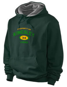 Kingsley Elementary School Lions Champion Men's Hooded Sweatshirt