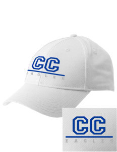 Calvary Christian School Eagles  Embroidered New Era Adjustable Structured Cap