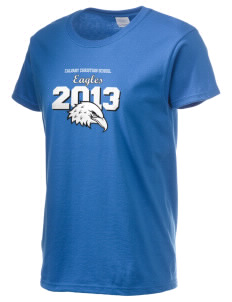 Calvary Christian School Eagles Women's 6.1 oz Ultra Cotton T-Shirt