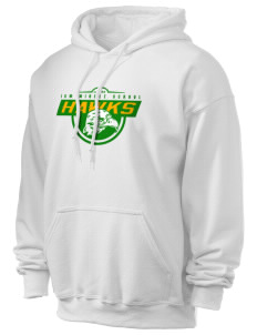 IKM Middle School Hawks Ultra Blend 50/50 Hooded Sweatshirt