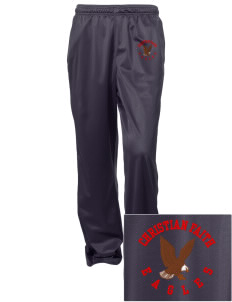 Christian Faith School Eagles Embroidered Women's Tricot Track Pants