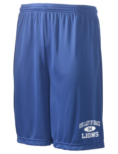 "Our Lady Of Grace School Lions Men's Competitor Short, 9"" Inseam"
