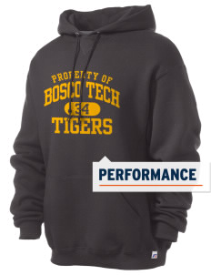 Don Bosco Tech Institute School Tigers Russell Men's Dri-Power Hooded Sweatshirt