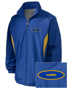 Our Lady Of Lourdes School Lions Embroidered Holloway Men's Full-Zip Jacket