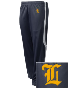 Our Lady Of Lourdes School Lions Embroidered Holloway Men's Tricotex Warm Up Pants