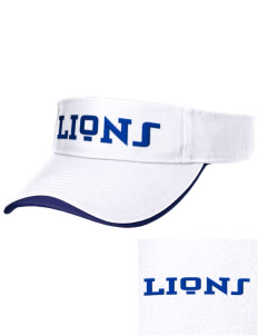 Our Lady Of Lourdes School Lions Embroidered Binding Visor