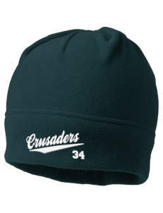 Saint John Of The Cross School Crusaders Embroidered Fleece Beanie