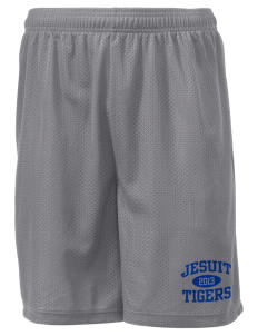 "Jesuit High School Tigers Men's Mesh Shorts, 7-1/2"" Inseam"