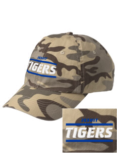 Jesuit High School Tigers Embroidered Camouflage Cotton Cap