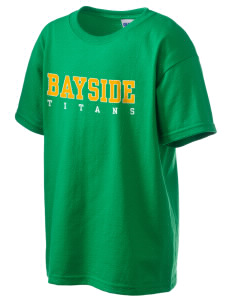 Bayside Community Day School Trojans Kid's 6.1 oz Ultra Cotton T-Shirt