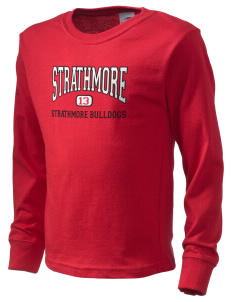 Strathmore Middle School Strathmore Bulldogs  Kid's Long Sleeve T-Shirt