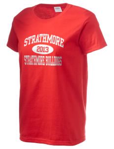Strathmore Middle School Strathmore Bulldogs Women's 6.1 oz Ultra Cotton T-Shirt