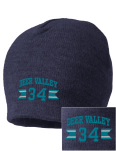 Deer Valley High School Wolverines Embroidered Beanie
