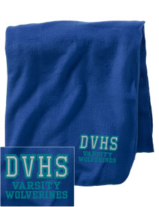 Deer Valley High School Wolverines Embroidered Holloway Stadium Fleece Blanket