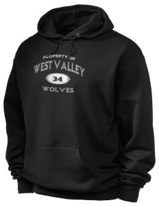West Valley Middle School Wolves Holloway Men's 50/50 Hooded Sweatshirt