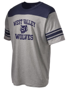 West Valley Middle School Wolves Holloway Men's Champ T-Shirt
