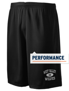 "West Valley Middle School Wolves Holloway Men's Speed Shorts, 9"" Inseam"