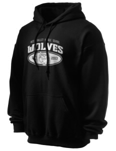 West Valley Middle School Wolves Ultra Blend 50/50 Hooded Sweatshirt