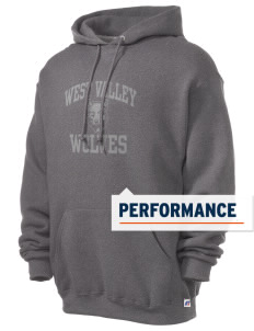 West Valley Middle School Wolves Russell Men's Dri-Power Hooded Sweatshirt