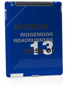 Ridgemoor Elementary School Roadrunners Apple iPad 2 Skin