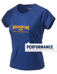 Meadowlark Elementary School Meadowlarks Champion Women's Wicking T-Shirt