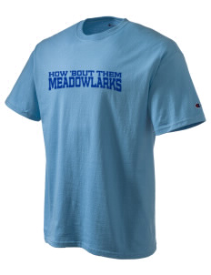 Meadowlark Elementary School Meadowlarks Champion Men's Tagless T-Shirt