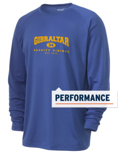 Gibraltar Middle School Vikings Men's Ultimate Performance Long Sleeve T-Shirt