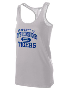 Truth Or Consequences Elementary School Tigers Women's Racerback Tank