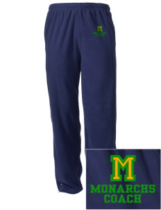 Meadows Elementary School Monarchs Embroidered Holloway Men's Flash Warmup Pants