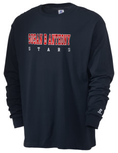 Susan B Anthony Elementary School Stars  Russell Men's Long Sleeve T-Shirt