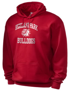 Highland Park Intermediate School Bulldogs Holloway Men's 50/50 Hooded Sweatshirt