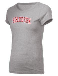 Highland Park Intermediate School Bulldogs Holloway Women's Groove T-Shirt