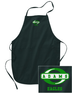 Adams Elementary School Eagles Embroidered Full Length Apron