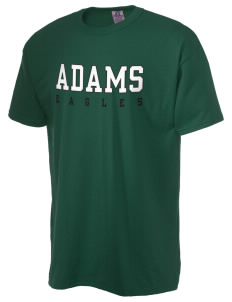 Adams Elementary School Eagles  Russell Men's NuBlend T-Shirt