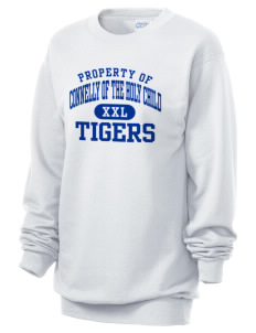 Connelly School Of The Holy Child Tigers Unisex 7.8 oz Lightweight Crewneck Sweatshirt